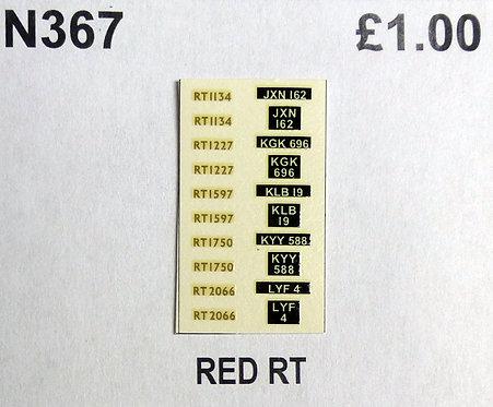 Gold RT1134, RT1227, RT1597, RT1750, RT2066
