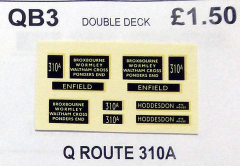 Q D/D Route 310A