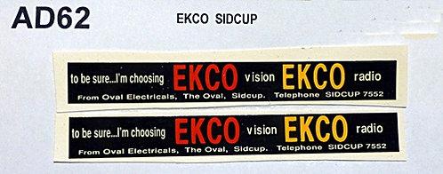 Ekco  Sidcup