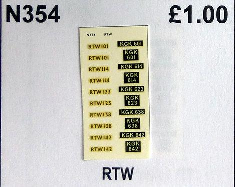 Gold RTW101, RTW114, RTW123, RTW138, RTW142
