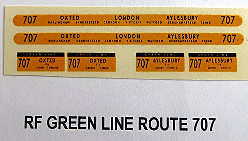 Green Line RF Route 707 (1960-70's)