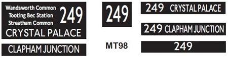 M / T   Route 249