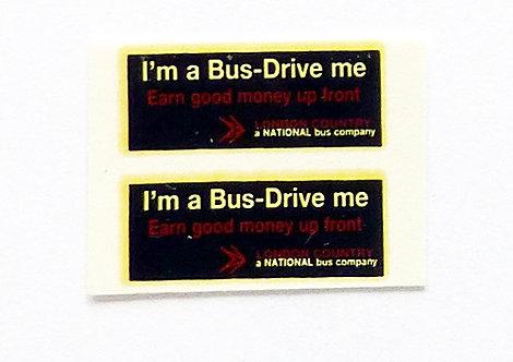 I'm A Bus Drive Me