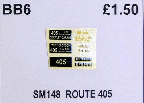SM / SMS Route 405 (SM148)