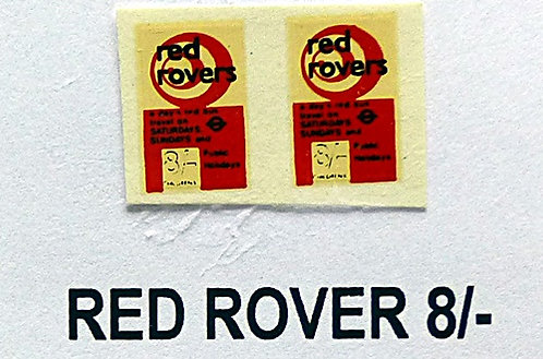 Red Rover 8/-