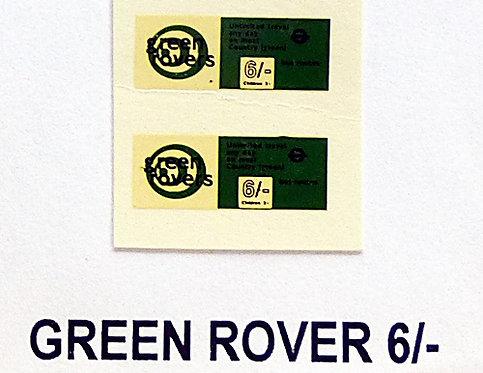 Green Rover 6/