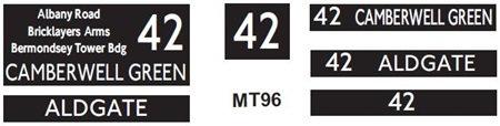 M / T   Route 42
