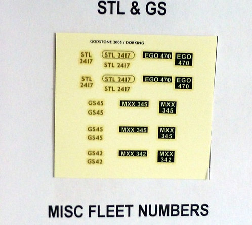 Gold STD118, STD121, STD171, STD 175, RM1000