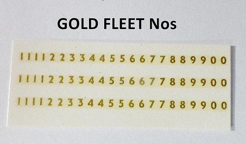 GOLD FLEET Nos