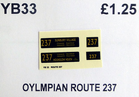 Olympian Route 237