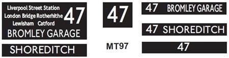 M / T   Route 47