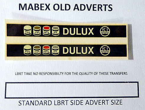 Mabex Side Adverts