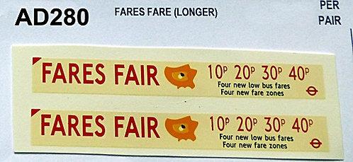 Fares Fair  (Longer)