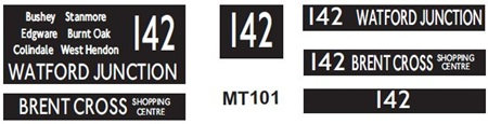 New M / T  Blinds Route 142