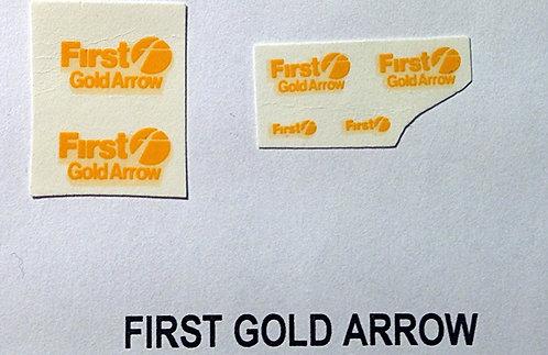 Fleet Name Sets  First Gold Arrow