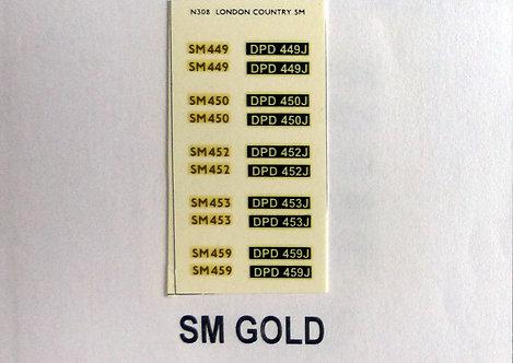 Gold SM449, SN450, SM452, SM453, SM459