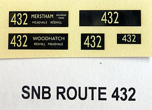 SNB Route 432