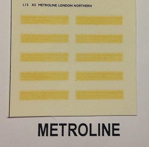 Legal Lettering  Metroline