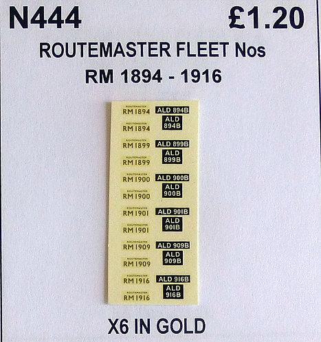 Gold RM 1894, 1899, 1900, 1901, 1909, 1916