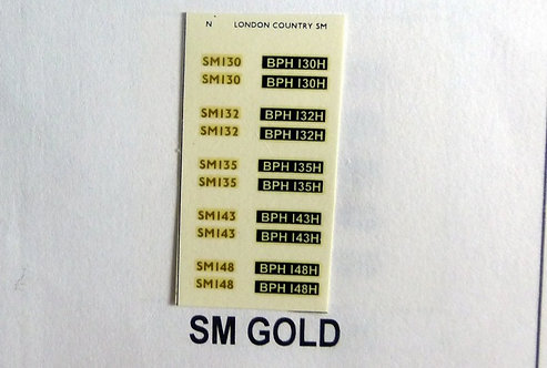 Gold SM130, SN132, SM135, SM143, SM148