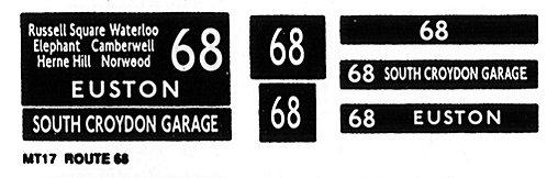 M / T Route 68