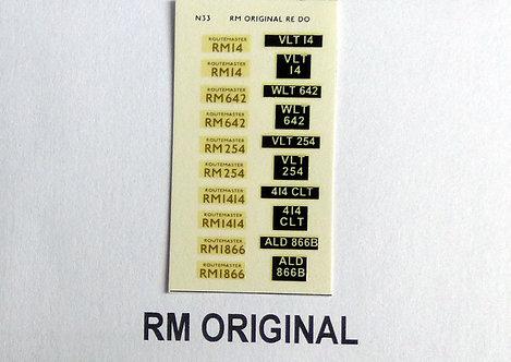 Gold RM14, RM642, RM254, RM1414