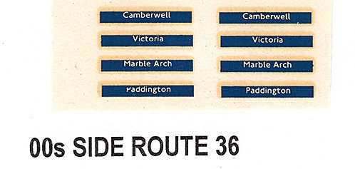 Side Route Branding RM  Route 36