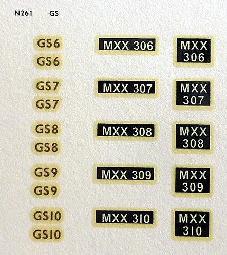 Gold GS6, GS7, GS8, GS9, GS10