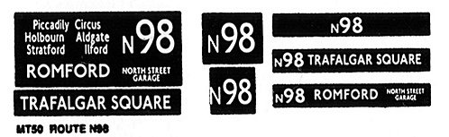 M / T Route N98