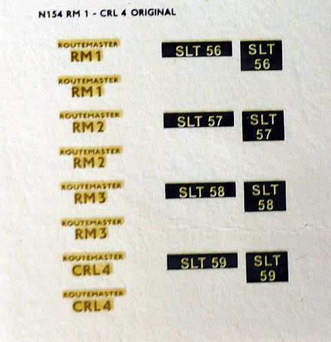 Gold RM1, RM2, RM3, CRL4