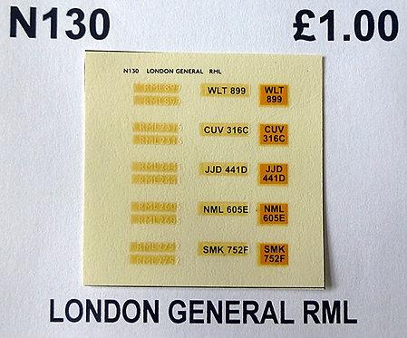White RML899, RML2316, RML2441, RML2605, RML2752