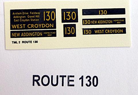 M/T/L Route 137