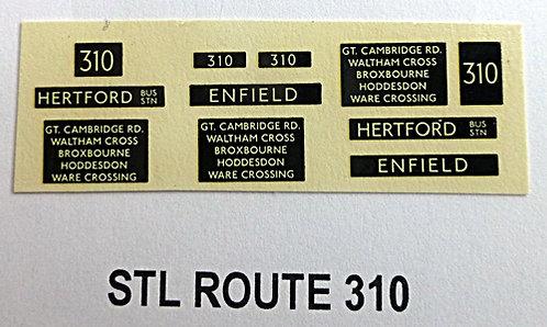 STL Route 310