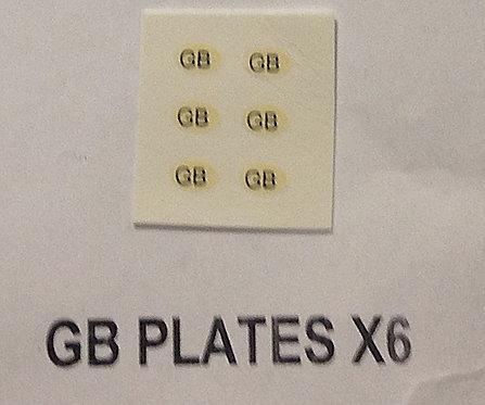 Misc:  GB Plates