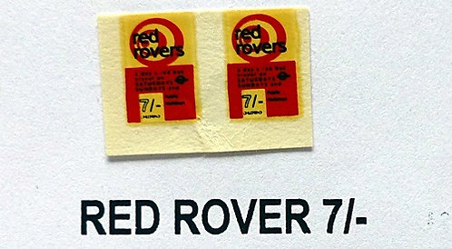 Red Rover 7/-