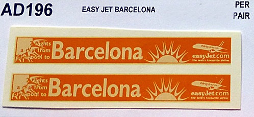 Easy Jet Barcelona