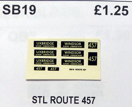 STL Route 457