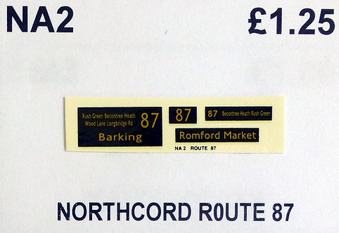 Northcord Route 87