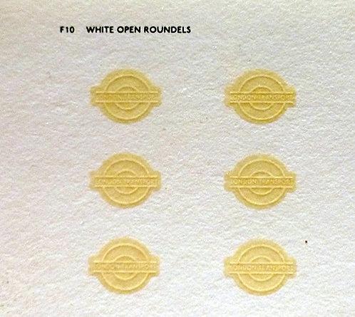 Fleet Names  Open White Bullseyes