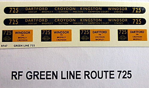 Green Line RF Route 725 (1950's)