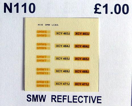 Yellow SMW 5, 6, 7, 11, 13