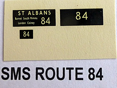 SM / SMS Route 84