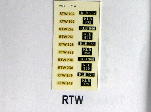 Gold RTW202, RTW216, RTW228, RTW230, RTW249
