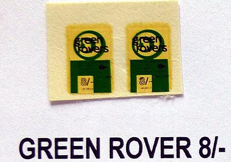 Green Rover 8/-