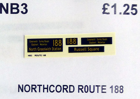 Northcord Route 188