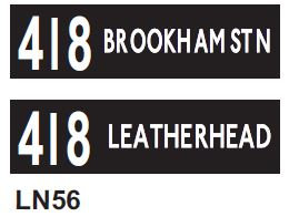 Leyland National Blind  Route 418