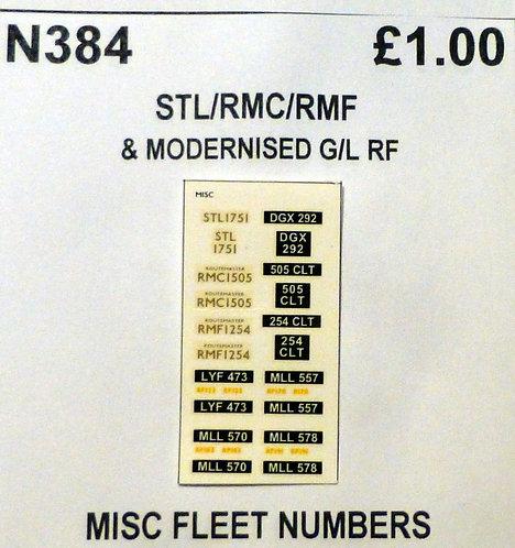 Gold / Yellow STL1751, RMC1505, RMF1254, RF122, RF170, RF183, RF191