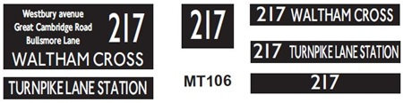 New M / T  Blinds Route 217