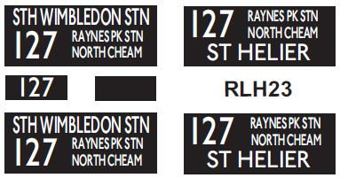 NEW RLH Blinds Route 127