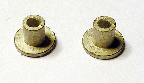 White Metal EFE Base Plugs (1 Pair)